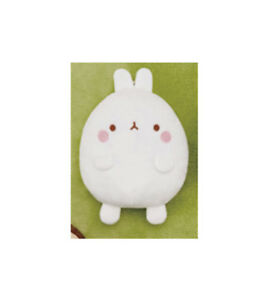 NEW Fans Molang White Rabbit Stuffed Plush Doll Coin Purse 18cm SS9173 US Seller
