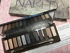 Authentic Urban Decay Naked Smoky Palette & double end brush New