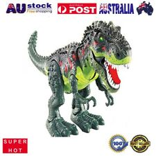 Kids Toy Walking T-Rex Dinosaur Toy Figure With Lights Sounds Real Movement AU