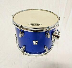 """Ddrum D2 12"""" x 9"""" 6-lug Tom Tom - Metallic Blue *USED*"""