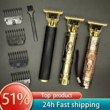 T Hair Clipper Electric hair trimmer Cordless Shaver Trimmer 0mm Men Barber Hair