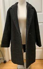 Women's Levis Original Charcoal Black Coat Jack. Size M. Ship Free!