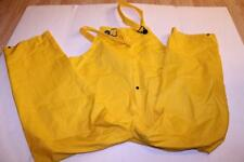 Men's Rain Gear XL Overalls (Yellow) Boxx