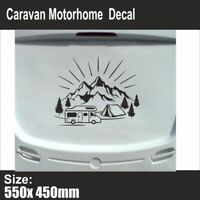 Mountain Range | Sticker Decal | Caravan Motorhome Camper Van | Swift | BB208