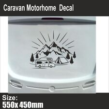 Mountain Range | Sticker Decal | Caravan Motorhome Camper Van | Swift | BB208