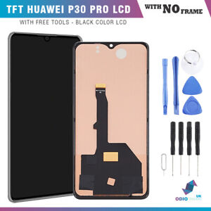Huawei P30 Pro No Frame Replacement LCD Touch Screen Display Digitiser Assembly