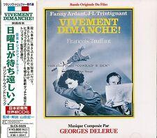 """Georges Delerue """"VIVEMENT DIMANCHE"""" soundtrack Japan SLC CD out of print"""