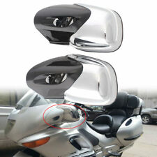 Pair Motorcycle Chrome Rearview Side Mirrors For BMW K1200 LT K1200M 1999-2009