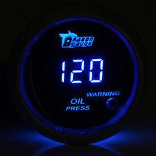 52mm Auto KFZ Digital Öldruck Anzeige Instrument Instrumente LED Öldruckanzeiger