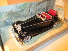 Mercedes Benz 540 K (1938) in schwarz nero noir black, Matchbox MoY Y-20 boxed!