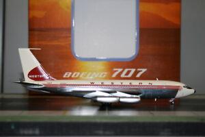 Western Models/Aeroclassics 1:200 Western Airlines Boeing 707-100 N76413