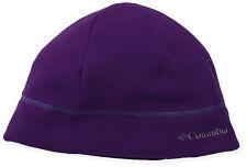 Columbia Men's / Women's Fast Trek Warm Winter Hat Beanie Cap Dark Purple L/XL