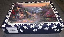 "New ListingThomas Kinkade ""The Village Lighthouse� 1000 Pc Jigsaw Puzzle By Ceaco"