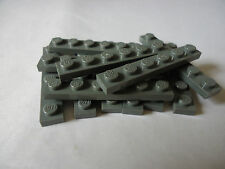 LEGO PART 3666 DARK BLUISH GREY 1 x 6 PLATES x 12