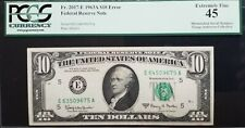 1963A $10 Frn - Richmond 《Mismatched Serial Number Error》Pcgs Ef45 *Nice*