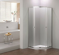 800x800 Quadrant+ Shower Enclosure Silver