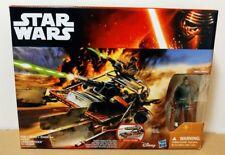 Star Wars The Force Awakens - Jakku Desert Landspeeder w/ Finn - Vehicle