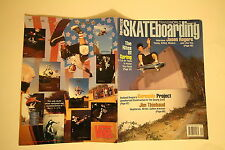TRANSWORLD SKATEBOARD MAGAZINE SEPTEMBER 1992 ROGERS THIEBAUD BURNSIDE DUFFY SMA