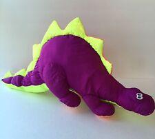 """Vintage 1992 Trendmasters Dinosaur 24"""" Purple Nylon"""