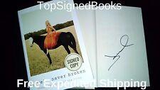 SIGNED by Jewel Kilcher, Jewel Kilcher Never Broken Hardcover, NEW Autographed