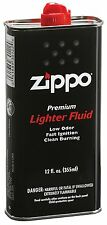 Fast Ignition Virtually Odorless Zippo 12ozLighter Fluid Imparts Less Aftertaste