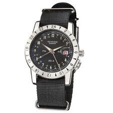 Glycine Men's Airman 1953 Vintage GMT Automatic Watch - Black
