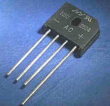 KBU2504 BRIDGE RECTIFIER  25A 25 Amp  400V