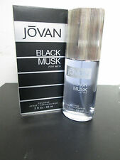 jovan black musk for men cologne  spray 3.0 for men new in box never used men