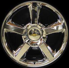 "NEW Chevy Silverado Tahoe Suburban Avalanche LTZ 20"" Chrome Wheels Rims FreeShip"