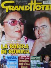 GrandHotel n°7 2003 Sandra Mondaini Raimondo Vianello Albano & Romina [C35A]