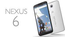 Motorola Nexus 6 XT1103 (Latest Model) - 32GB Cloud White (Unlocked) Smartphone