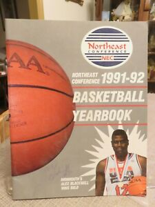 NORTHEAST CONFERENCE (NEC) 1991-92 BASKETBALL YEARBOOK