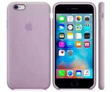 Apple iPhone 6/6s Funda De Silicona Excelente Manejo Genuino Apple Cubierta Lavanda Gris