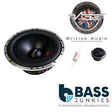 "Vibe CVEN62C-V4 6.5"" 165mm 240 Watts 2-Way Component Car Speakers and Tweeter"