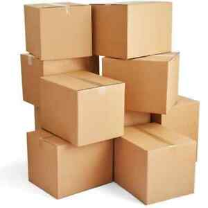 Brand New Brown Cardboard Boxes 500x500x330mm Pack Of 25!! House Move/ Postal