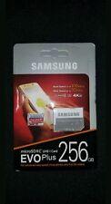 New Samsung 256GB EVO Plus UHS-I U3 Class 10 microSDXC micro SD memory Card