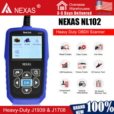 Universal Heavy Duty Diesel Truck & Car Diagnostic Scanner Tool OBD2 Code Reader