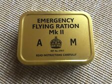 WWII RAF Air Ministry flying Ration Tin.(Reproduction)