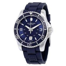 Victorinox Swiss Army Maverick GS Navy Dial Navy Blue Rubber Mens Watch 241603