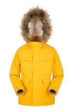 Mountain Warehouse Boys Padded Jacket Water Resistant with Microfibre Filling
