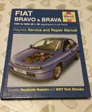 FIAT BRAVO BRAVA 95-00 HAYNES WORKSHOP MANUAL 3572 VGC UNUSED CONDITION FREE P&P