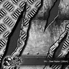 1m of Steel Raptor (SR1) 100cm Hydro Monkeys hydrographics water transfer film