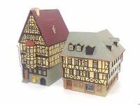 Marktplatz Miltenberg Hohes Haus + Eckhaus BELEUCHTET Spur N D0134