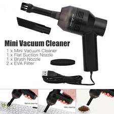 US Mini Vacuum Cleaner Portable USB Computer Keyboard Brush Dust Clean Tools Kit