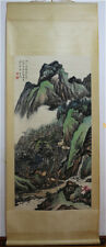 Excellent Chinese 100% Hand Painting & Scroll Landscape By Huang Binhong 黄宾虹AL9