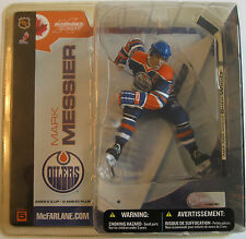 McFarlane Sports Picks NHL Series 5 Mark Messier Edmonton Oilers Blue Rare