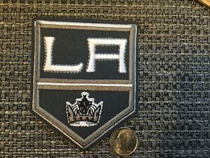 """LA KINGS Embroidered IRON On Patch Awesome  Patch 3"""" X 2.5"""" NHL"""