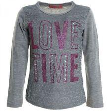 Markenlose Mädchen-T-Shirts & -Tops mit Rundhals 140 Größe