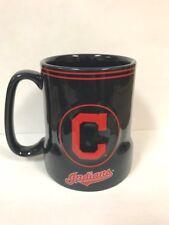 Cleveland Indians Coffee Mug - 18oz Game Time [NEW] MLB Microwave Tea Cup CDG