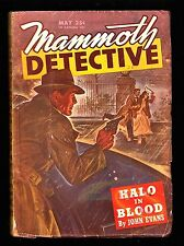 MAMMOTH DETECTIVE (May 1946) Vol. 5#3 (SIGNED by Howard Browne/1st Paul Pine)